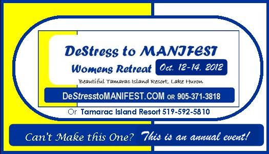 DeStress To MANIFEST Women's Retreat