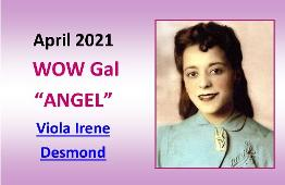 APRIL 2021 WOW Gal Angel