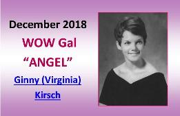 DECEMBER  2018 WOW Gal Angel