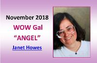 NOVEMBER  2018 WOW Gal Angel